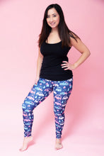 Load image into Gallery viewer, Pink Car Women's Activewear Leggings Regular Length