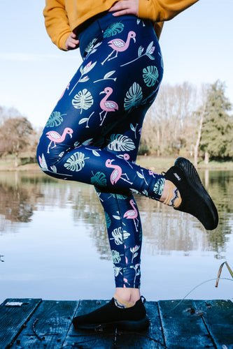 Flamingo Women's Activewear Leggings Regular Length