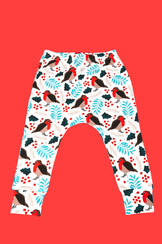 Christmas Robin Leggings