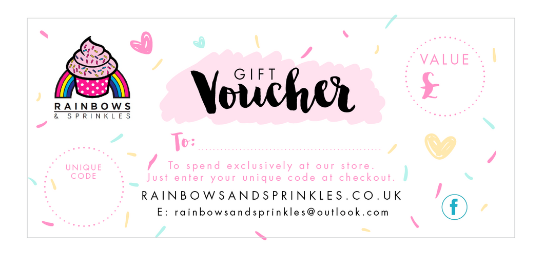 Gift Voucher - please read before ordering