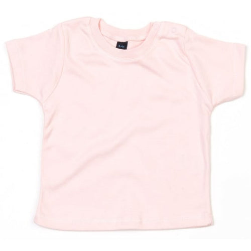 Powder Pink Single Colour Child's T-Shirts