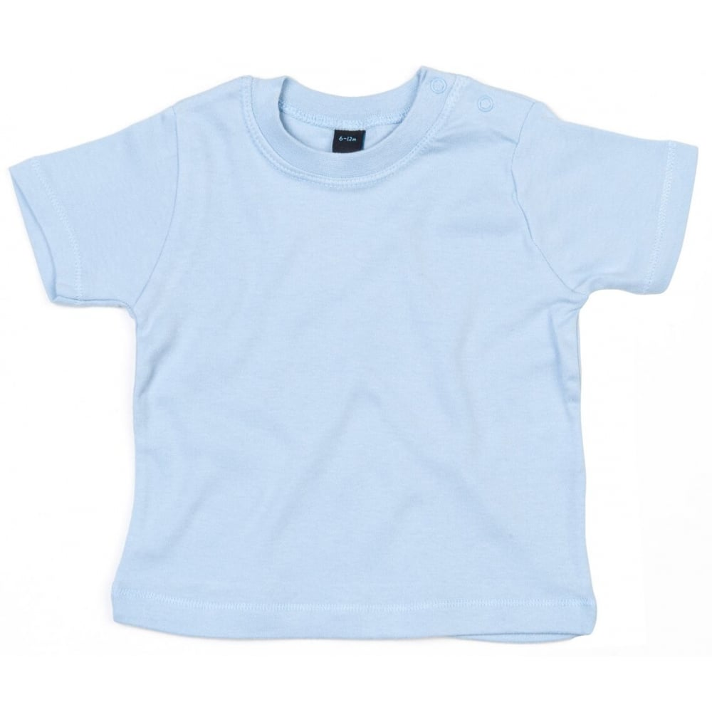 Dusty Blue Single Colour Child's T-Shirts