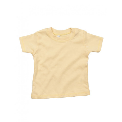 Dusty Yellow Single Colour Child's T-Shirts