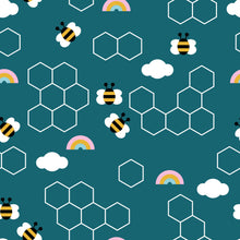 Load image into Gallery viewer, Bees & Rainbows Leggings