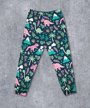 Load image into Gallery viewer, Pink Dino Leggings