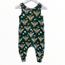 Load image into Gallery viewer, Giraffe Dungarees