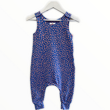 Load image into Gallery viewer, Pink/Blue Terrazzo Dungarees