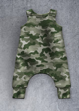 Load image into Gallery viewer, Camouflage Dungarees
