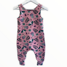 Load image into Gallery viewer, Pink Bug Life Dungarees