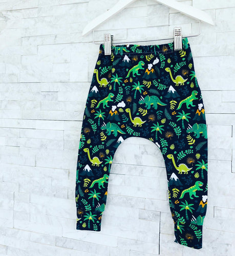 Dino & Volcano Leggings