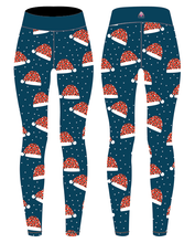 Load image into Gallery viewer, Christmas Hat Capri Women's Activewear Leggings