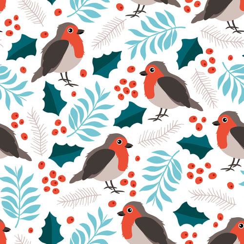 Christmas Robin Children's Active Leggings