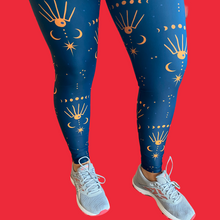 Load image into Gallery viewer, Cosmic Universe Women's Activewear Leggings Regular Length