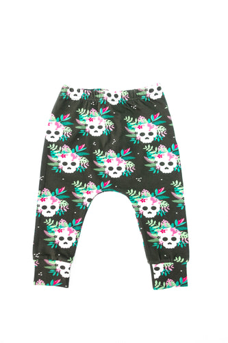 Tropical Skulls Leggings