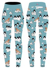 Load image into Gallery viewer, Penguin Children's Active Leggings - PLEASE READ BEFORE ORDERING