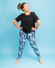 Load image into Gallery viewer, Tropical Leaves Women's Activewear Leggings Regular Length