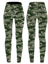 Load image into Gallery viewer, Camouflage Children's Active Leggings