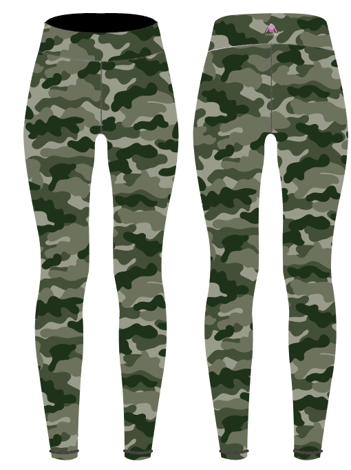 Camouflage Children's Active Leggings