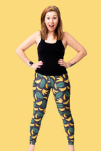 "Load image into Gallery viewer, Banana Women's Activewear Leggings- Tall 33"" inside leg"