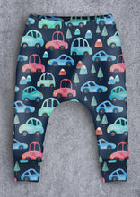 Load image into Gallery viewer, Navy Car Leggings