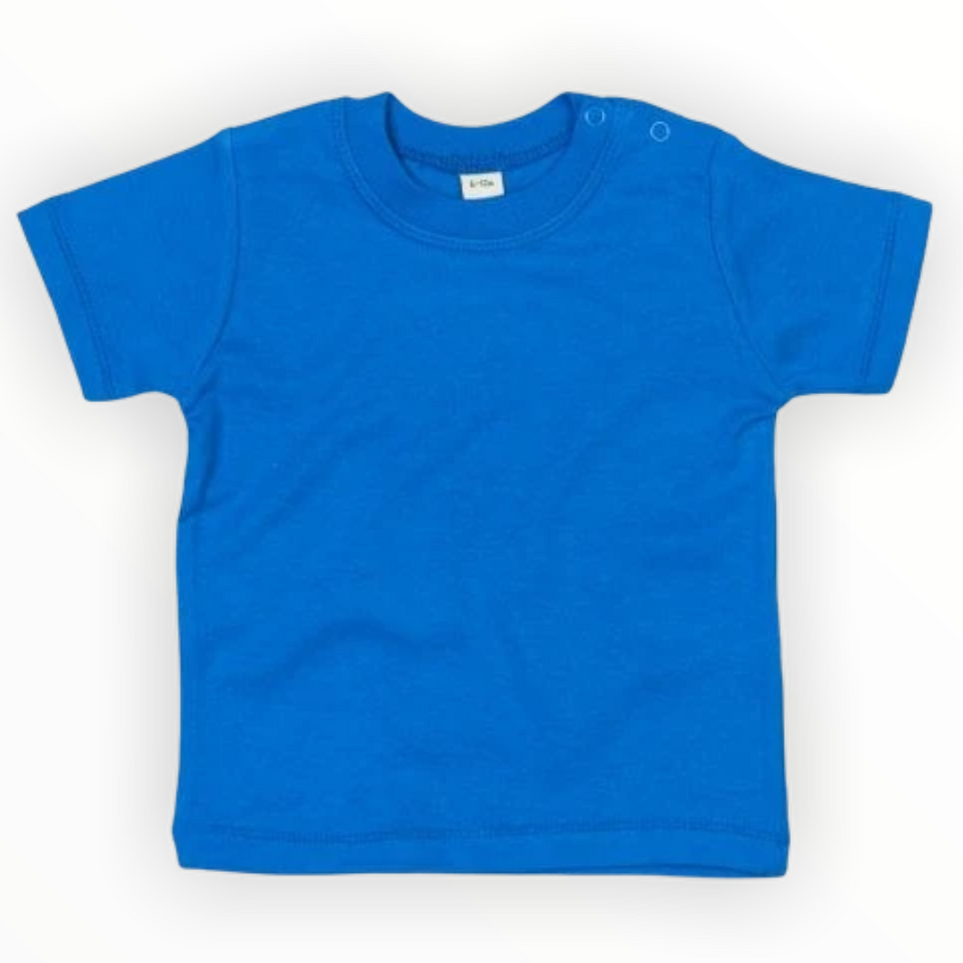 Cobalt Blue Single Colour Child's T-Shirts