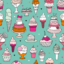 Load image into Gallery viewer, Cakes & Ice Cream Children's Active Leggings - PLEASE READ BEFORE ORDERING