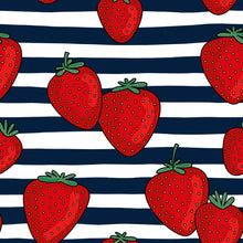 Load image into Gallery viewer, Strawberry & Stripes Children's Active Leggings - PLEASE READ BEFORE ORDERING