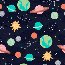 Load image into Gallery viewer, Space Children's Active Leggings - PLEASE READ BEFORE ORDERING