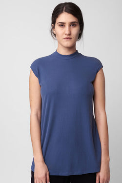 Sookie tank top blue - layou-design