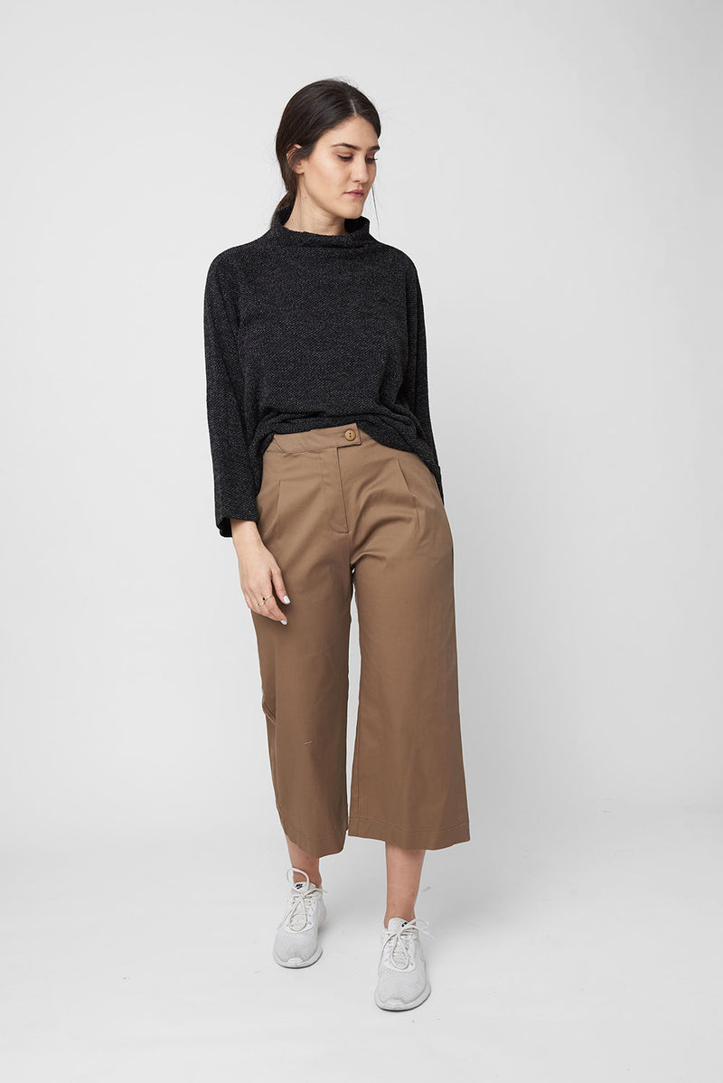 Rory pants brown - layou-design