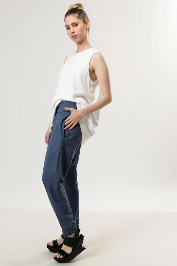 Donn Pants Blue - Layou Design by Shay Sobol