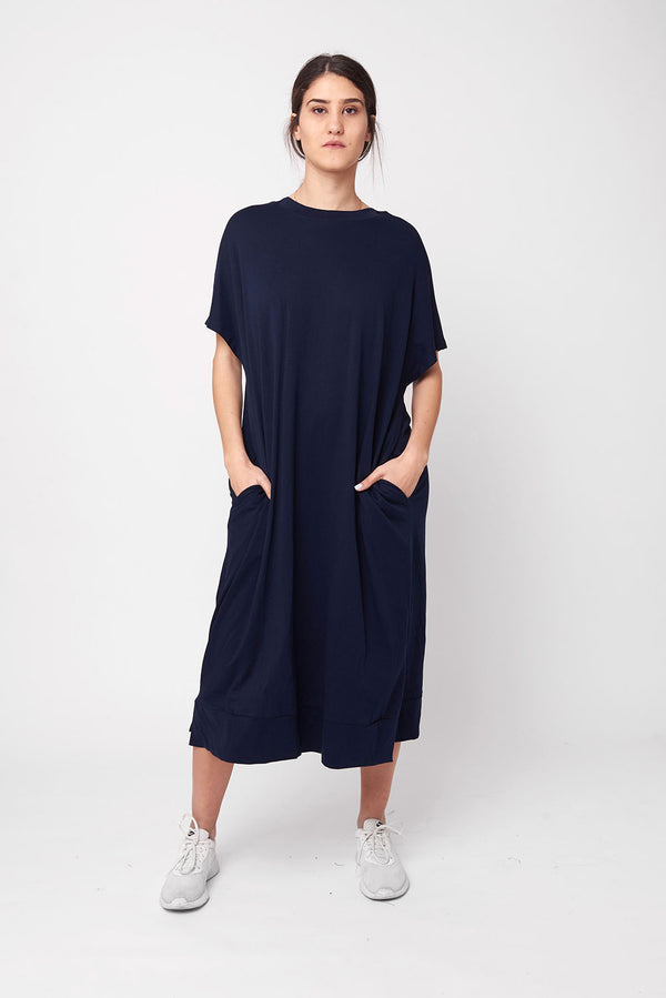 Lane dress navy - layou-design