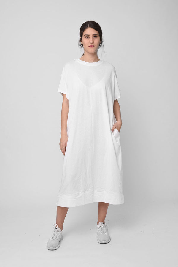 Lane dress white - Layou Design by Shay Sobol