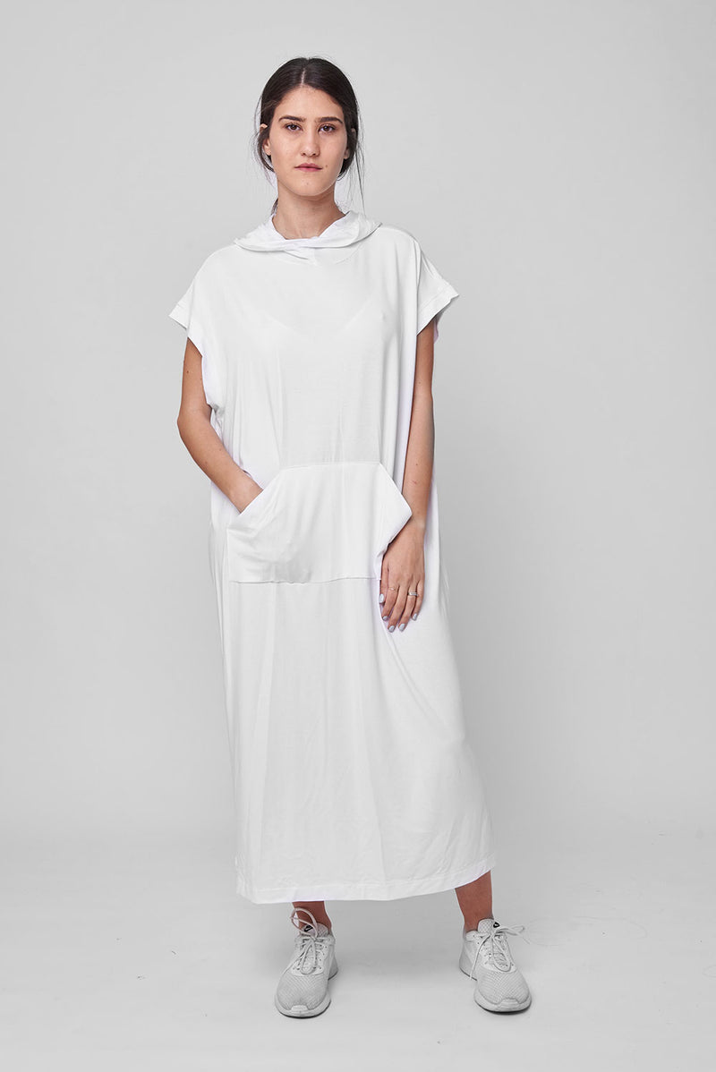 Michel dress white - Layou Design by Shay Sobol