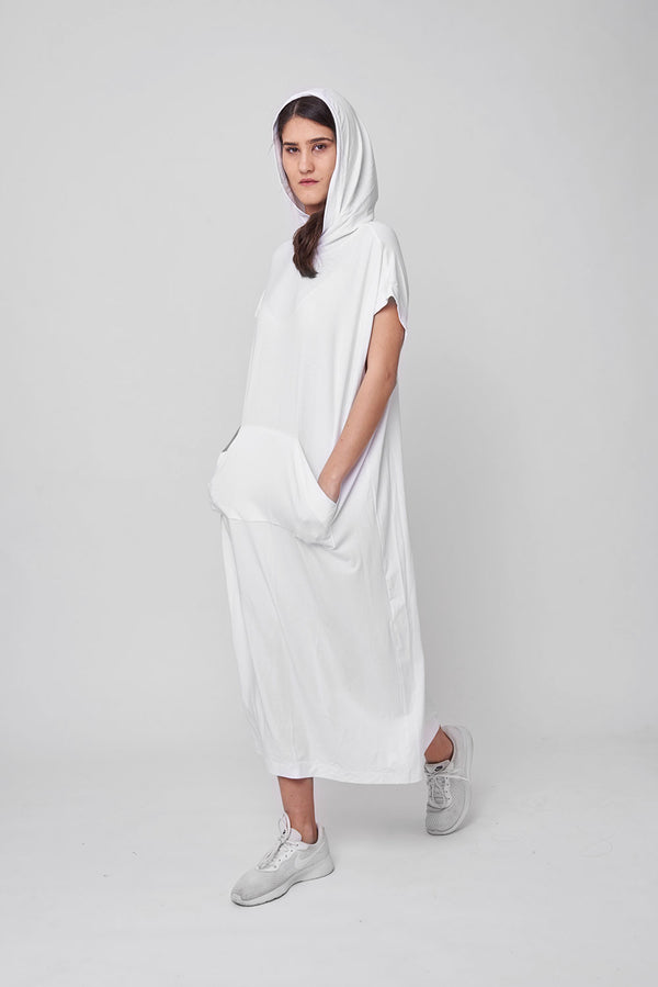 Michel dress white - layou-design