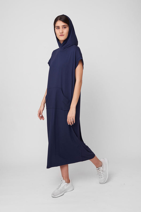Michel dress navy - layou-design