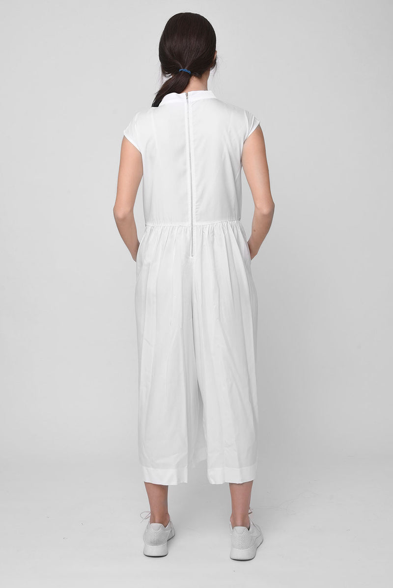 Lorelai jumpsuit white - layou-design