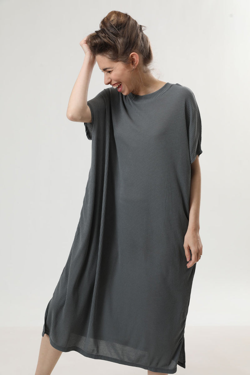 Peggy Dress Olive - layou-design