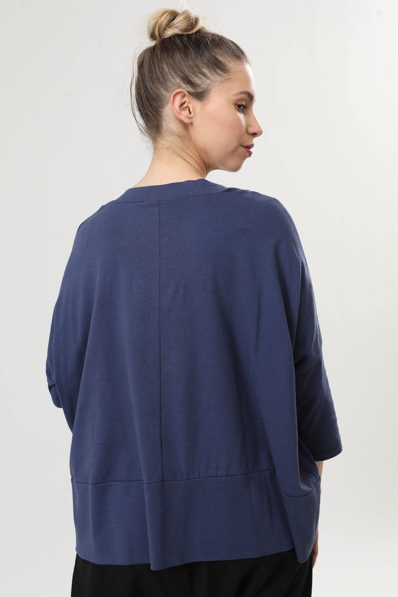 Overlap T Blue - layou-design