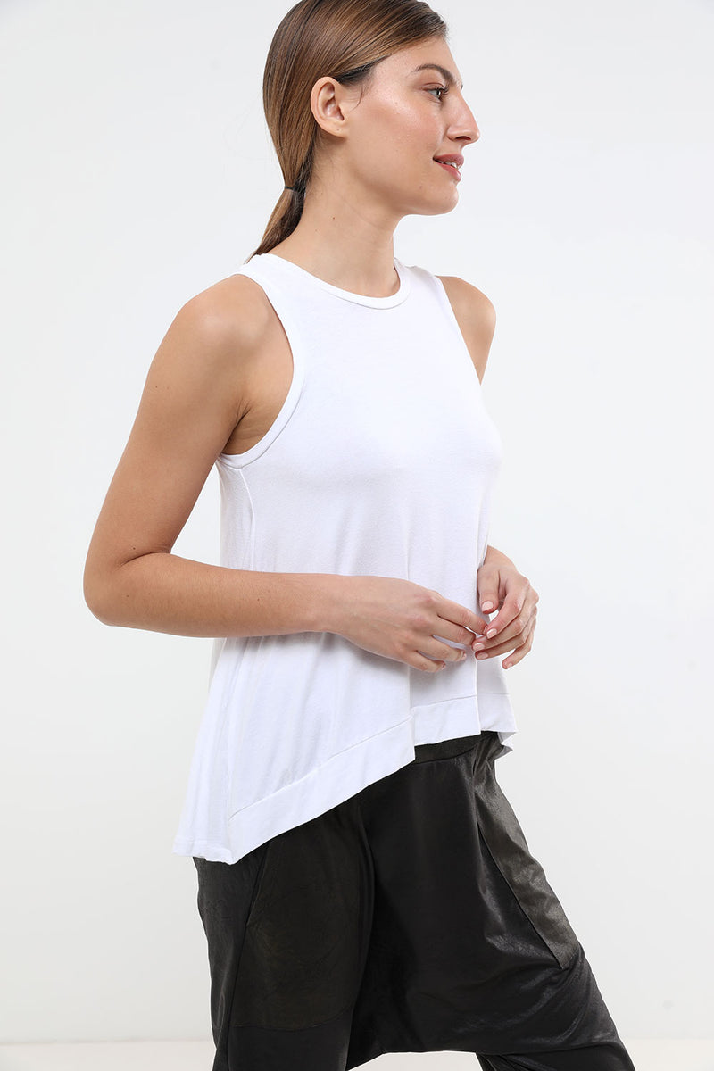 Birdy Tank Top White - layou-design