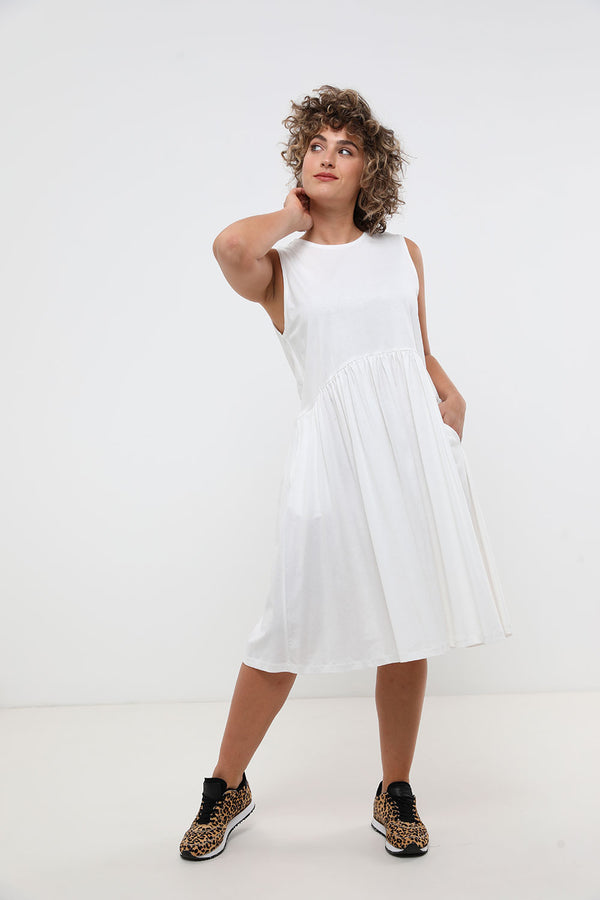Cooper Dress White - Layou Design by Shay Sobol