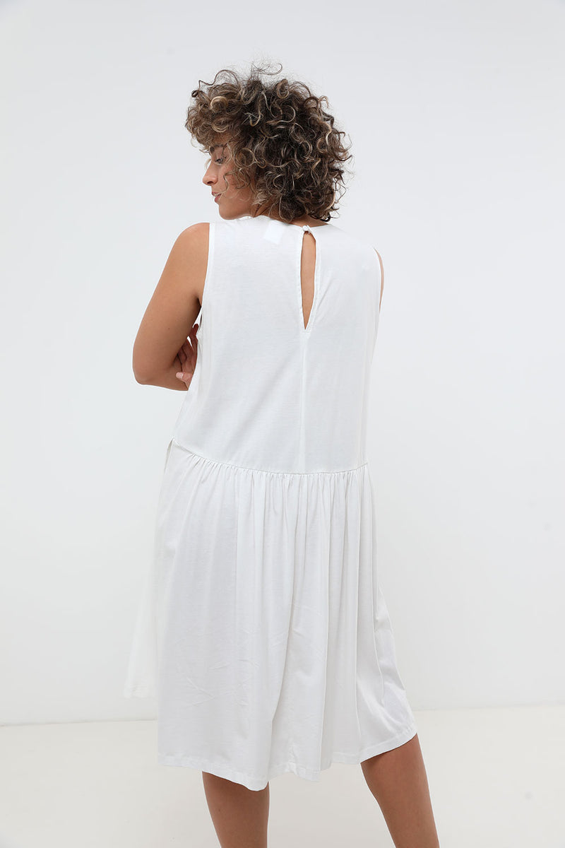 Cooper Dress White - layou-design