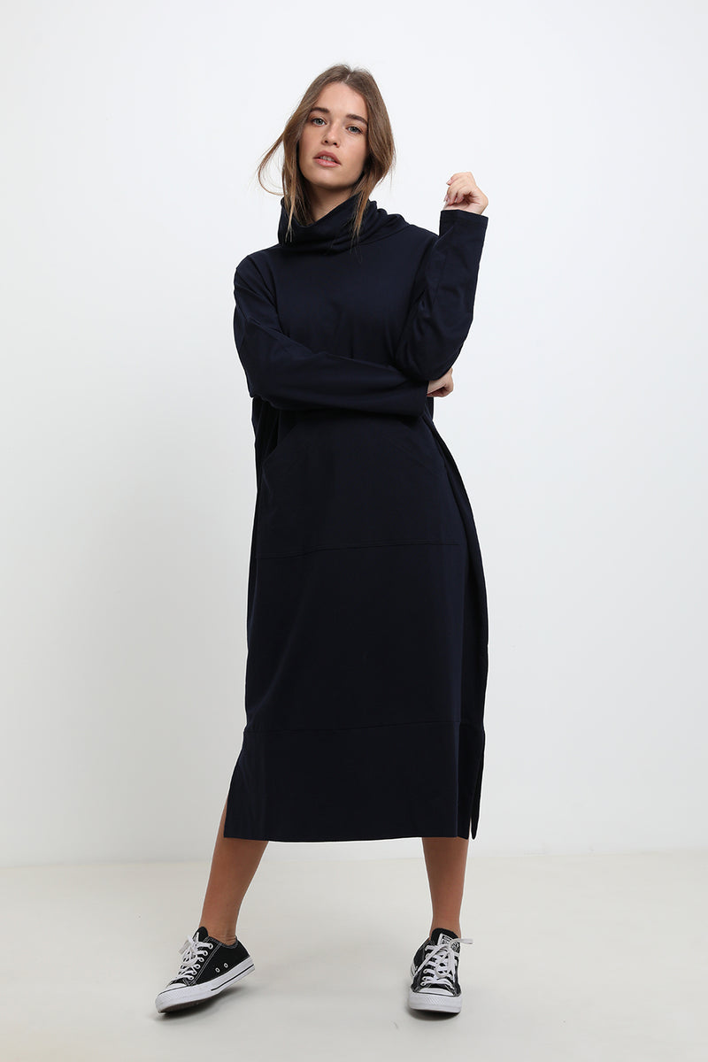 Blair dress Navy - Layou Design by Shay Sobol