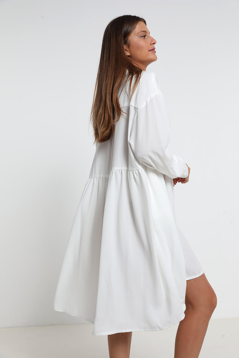 Lily dress White - layou-design