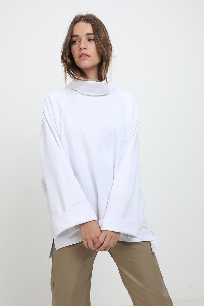 Diana sweater White - layou-design