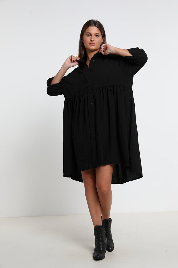 Lily dress Black - layou-design