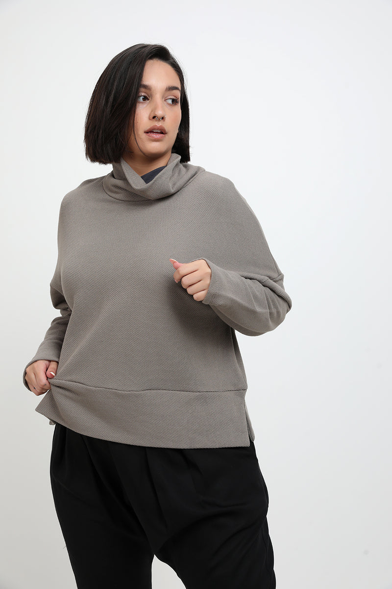 Serena sweater Brown