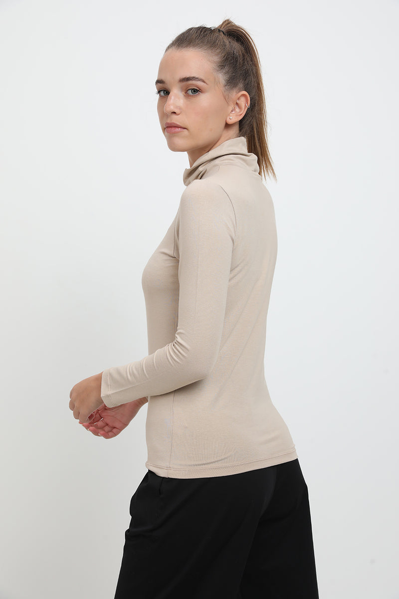 Chuck shirt Beige - layou-design