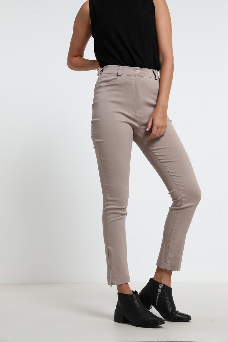 Olivia pants Beige - Layou Design by Shay Sobol