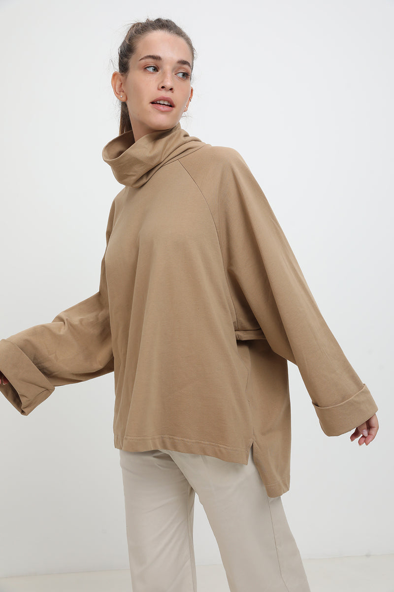 Diana sweater Brown - layou-design